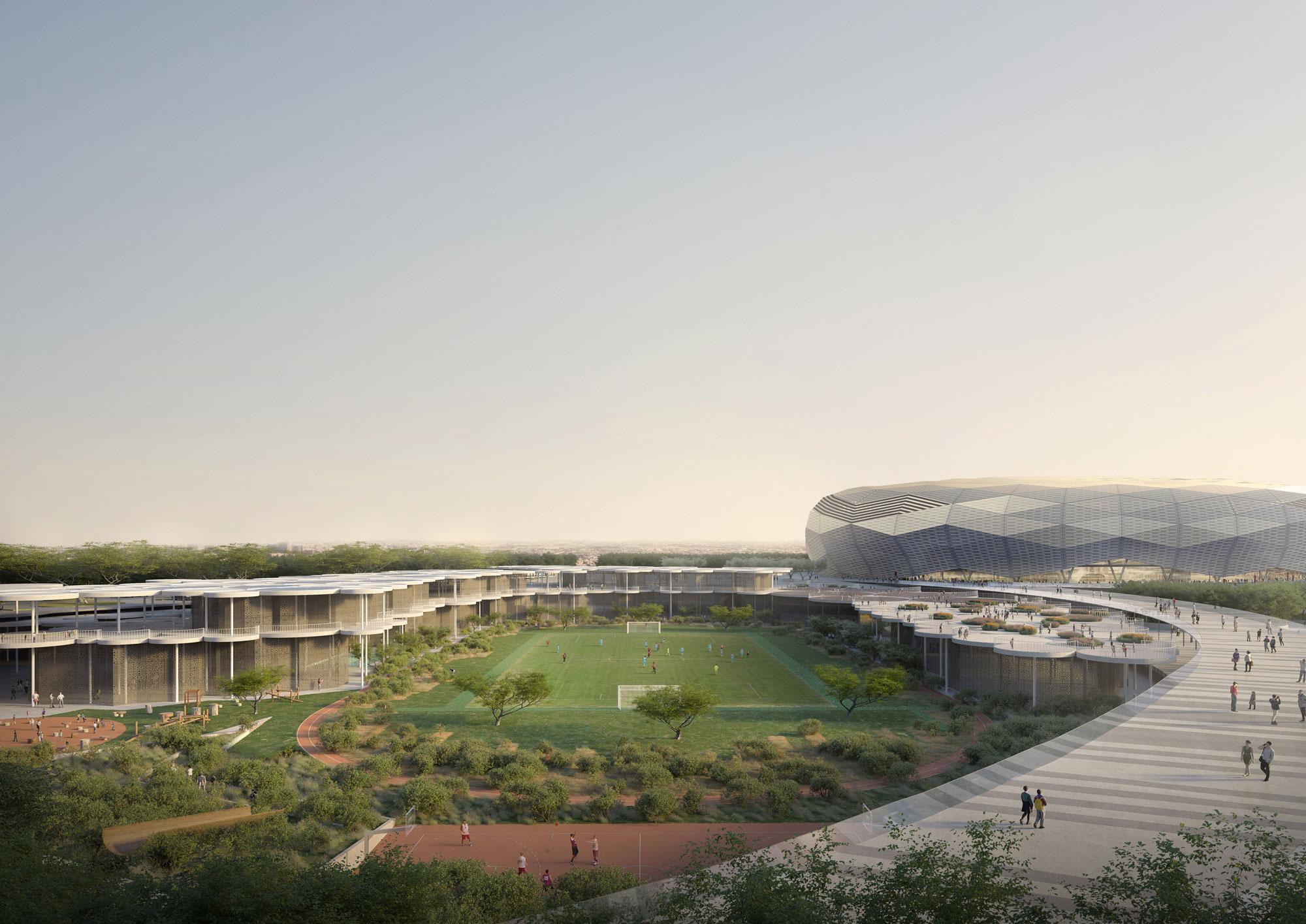 Tezuka Architects | new school complex, Doha (QA)