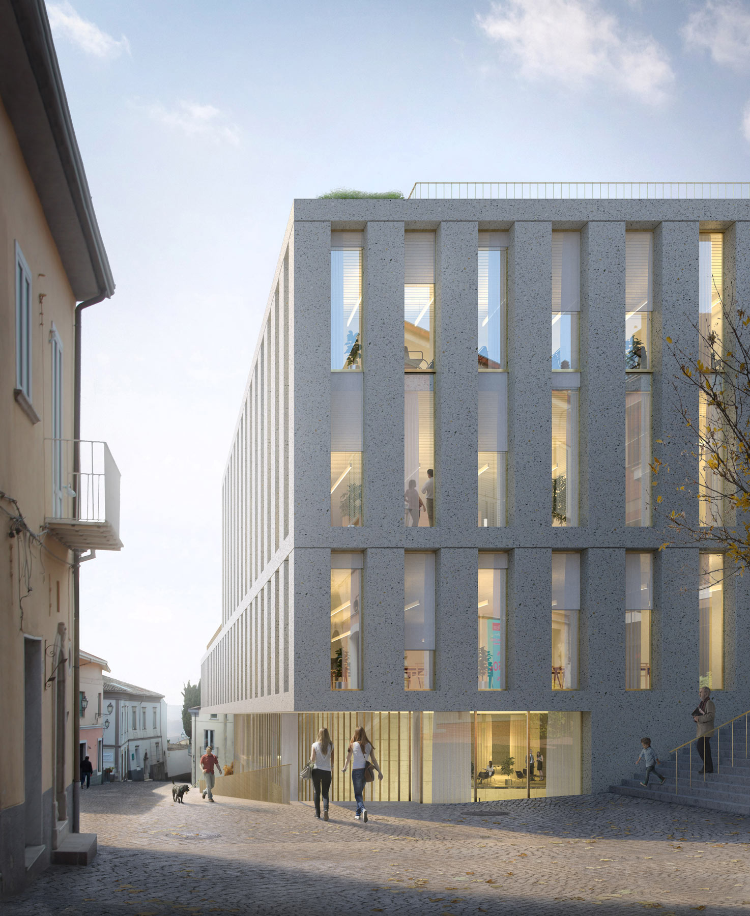 Finalist | Mide Architetti | School of excellence, Ariano Irpino (IT)