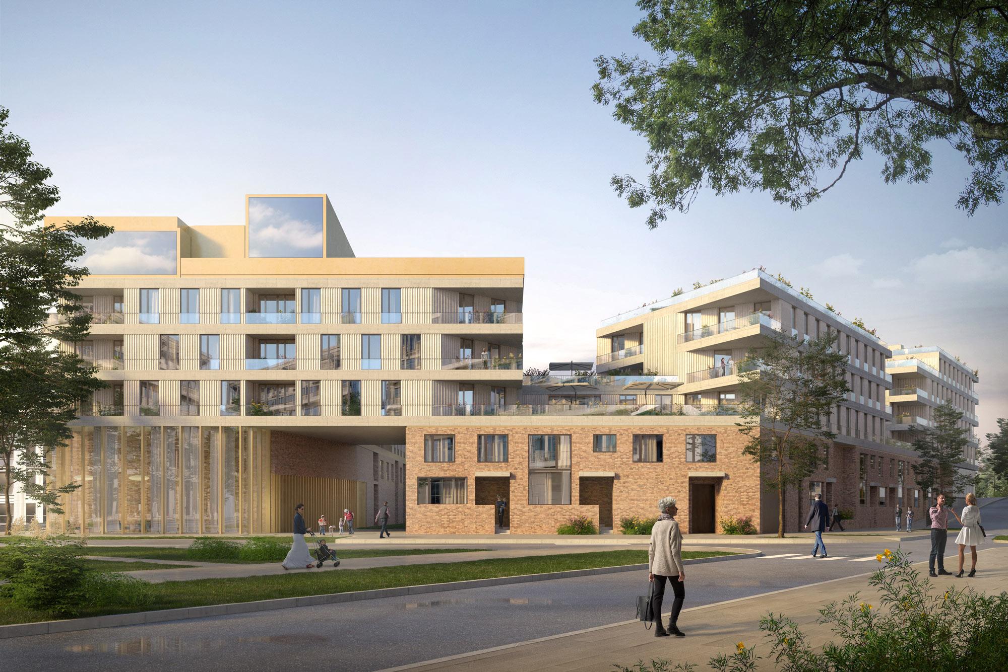 Martin Duplantier Architectes | Social housing in France