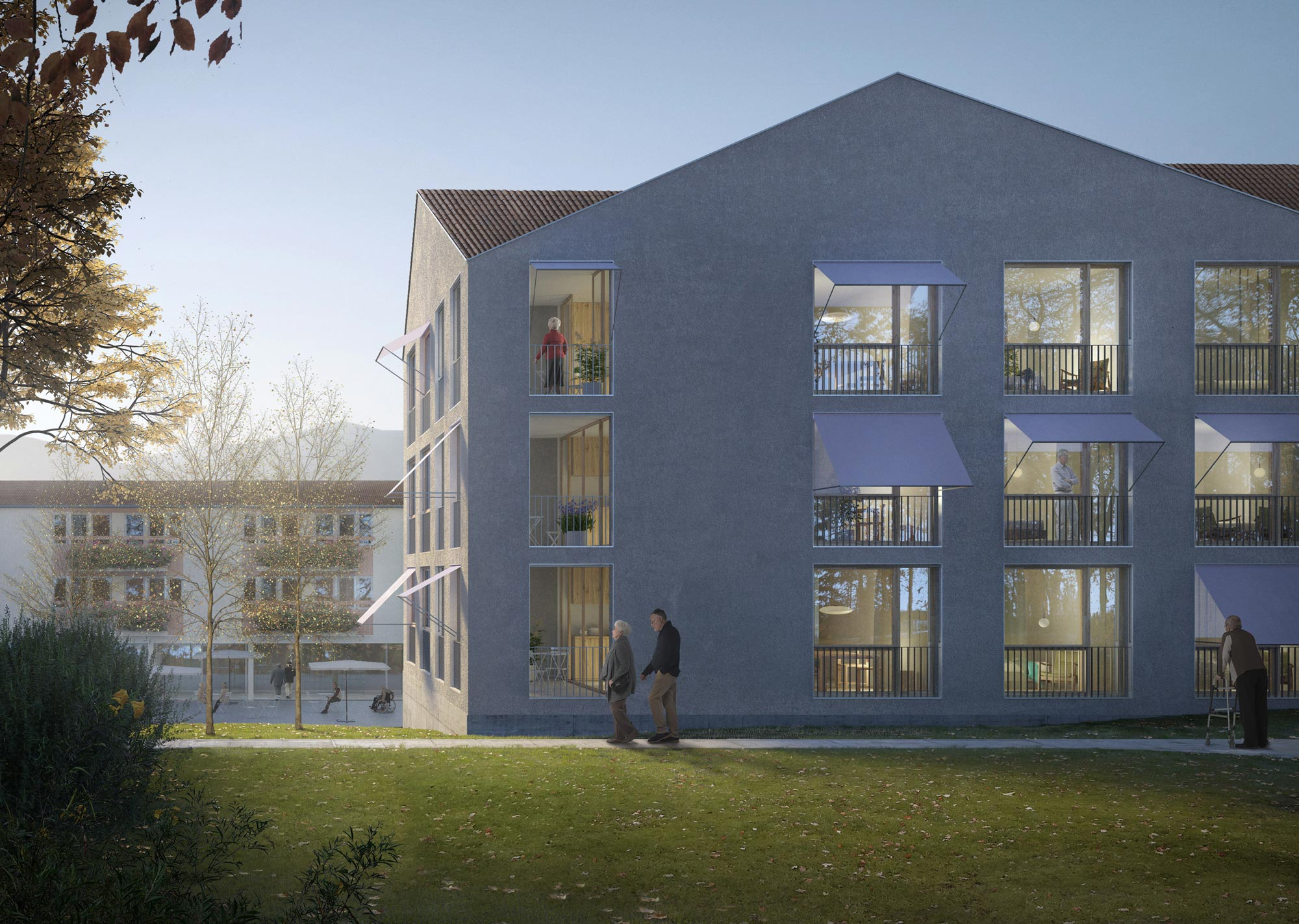4th Prize | ahaa GmbH | Retirement home, Büren an der Aare (CH)