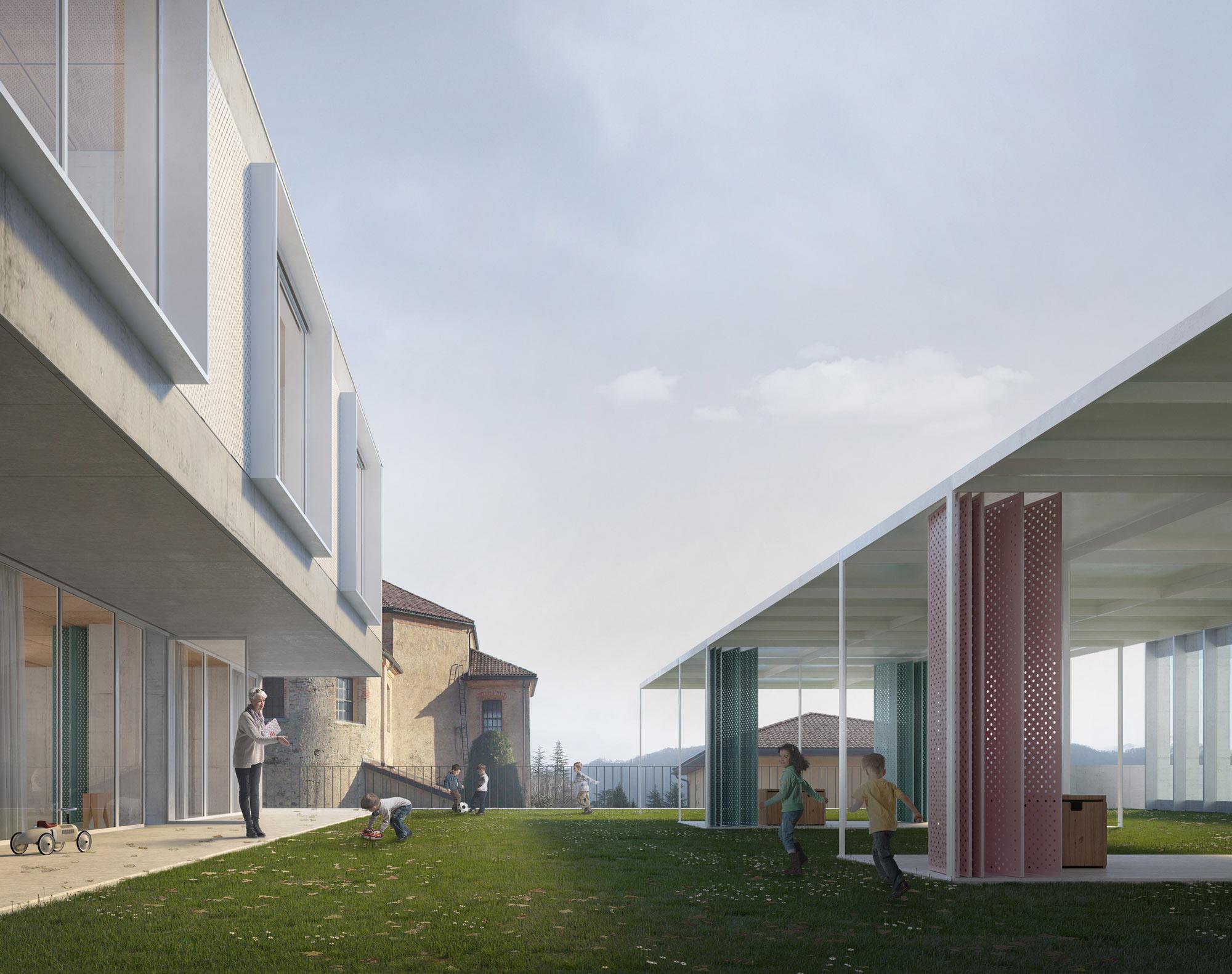 caruso_mainardi architetti | Kindergarten, Bioggio (CH)