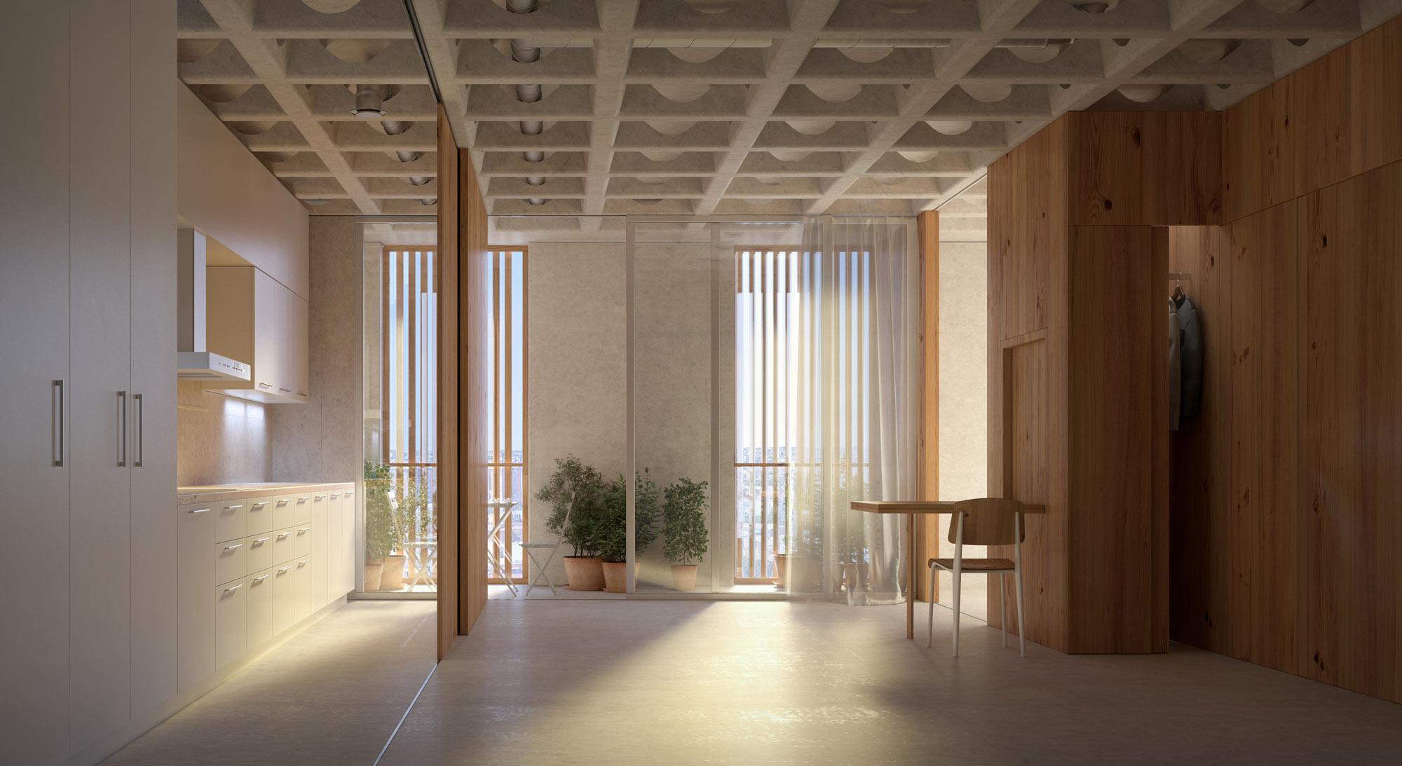 Finalist | Guillermo Vázquez Consuegra | Social housing, Madrid (ES)