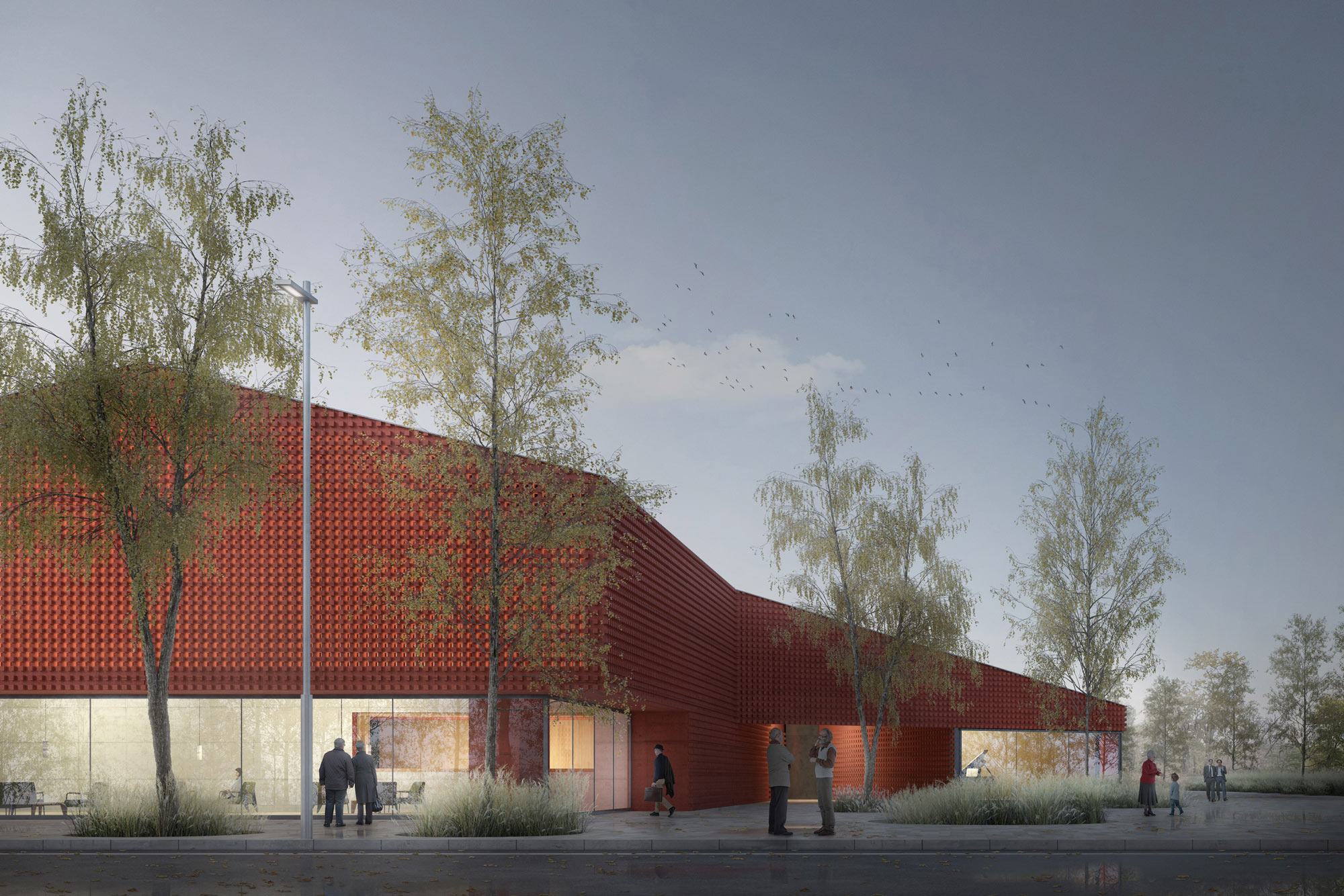1st Prize | Mide Architetti | New Theatre, Albinasego (IT)