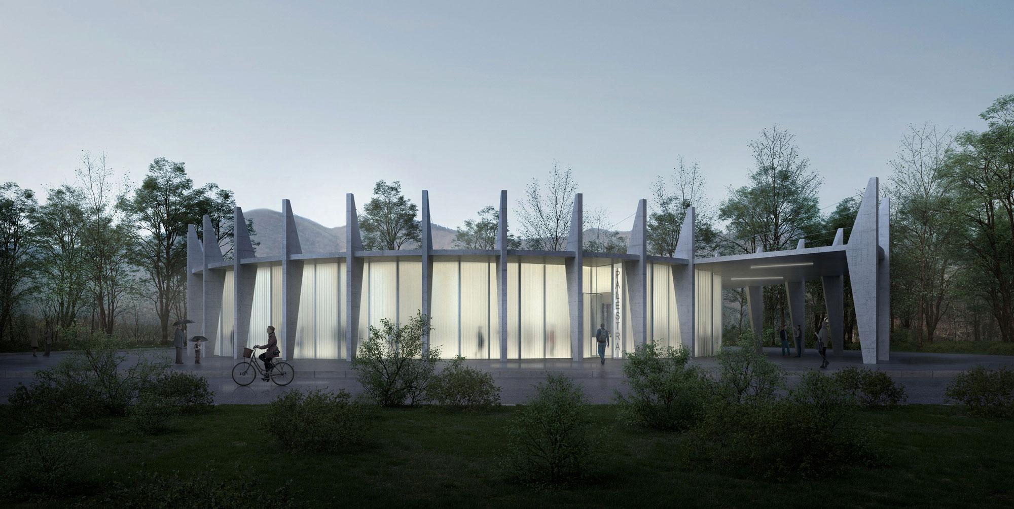 attilio panzeri & partners sa atelier d'architettura | Gym, Verscio (CH)