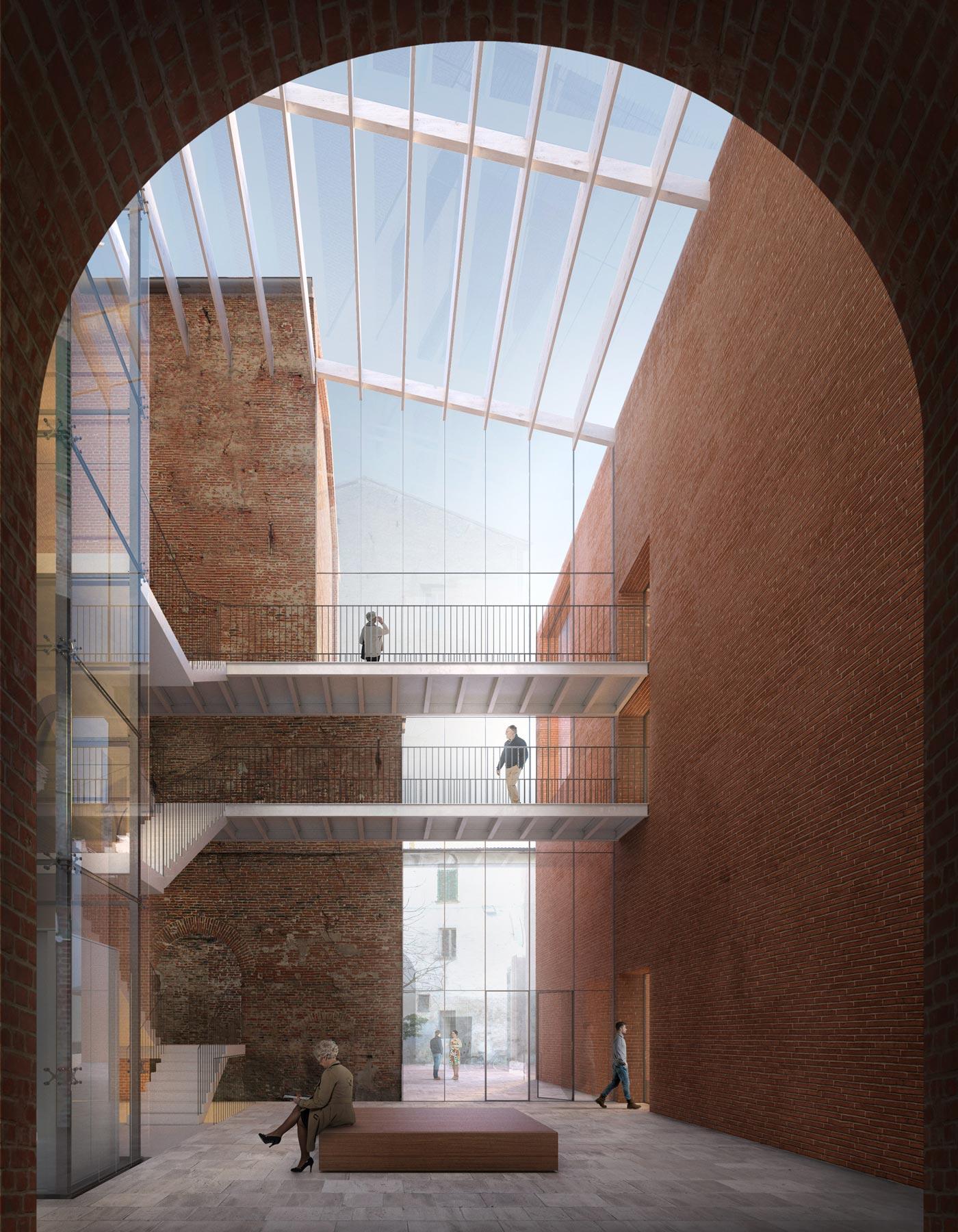 2nd Prize | Guillermo Vázquez Consuegra | Palazzo Massari extension, Ferrara (IT)