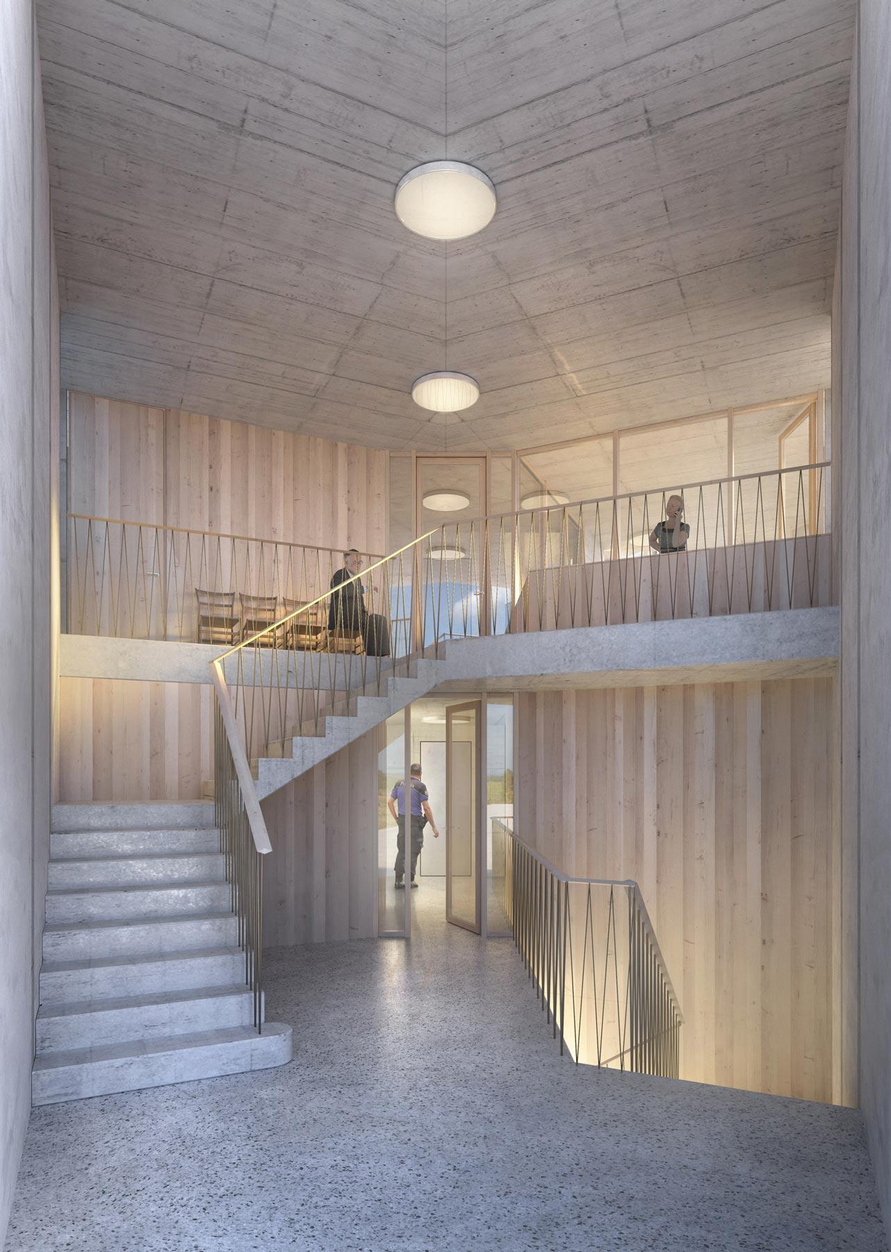 1st Prize | Buzzi studio d'architettura | New Police Station, Caslano (CH)