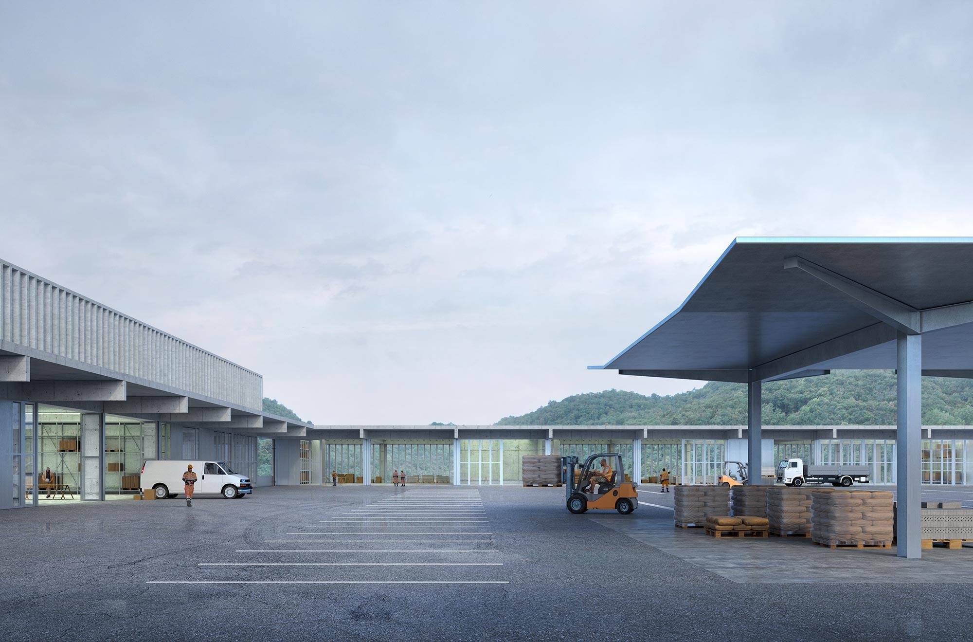 3rd Prize | Orsi & Associati + Montemurro Aguiar Architetti | DSU Headquarter, Lugano (CH)
