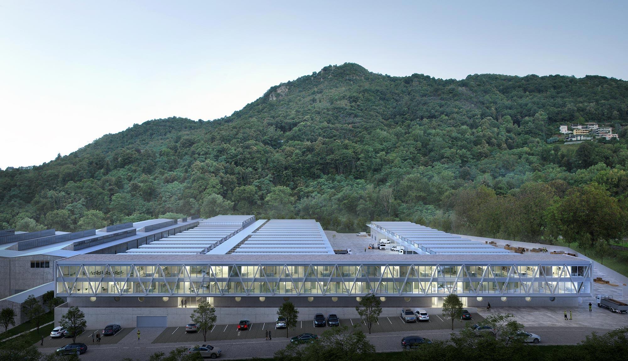 2nd Prize | Pietro Boschetti Architetto | DSU Headquarter, Lugano (CH)