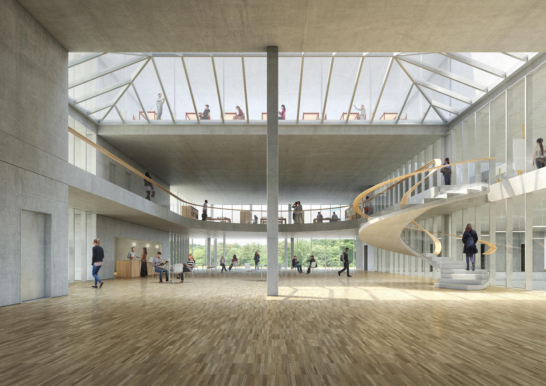 Cedric Schaerer Architecte | Campus Pole Sante, Sion (CH)