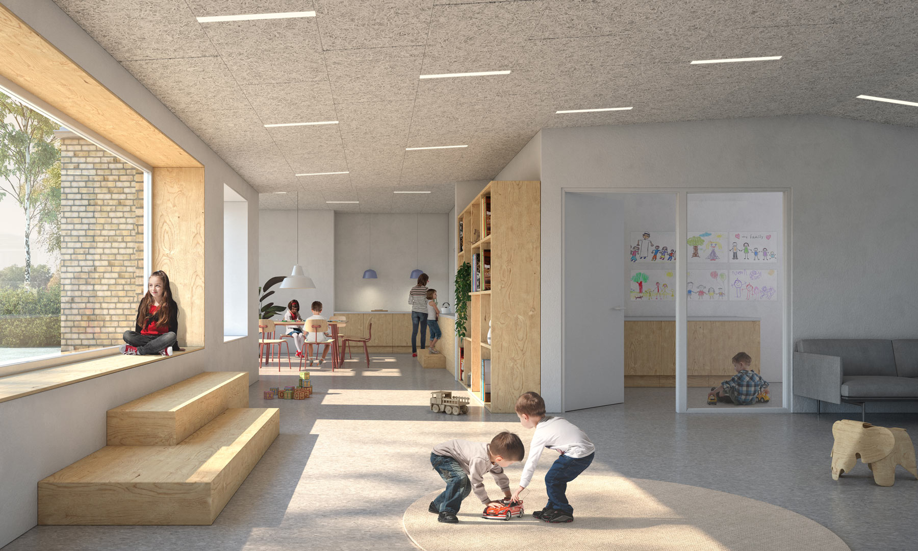 Nord Architects | School in Copenaghen (DK)